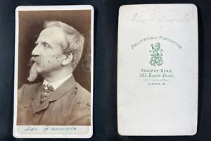 Beau, London, Henri Orléans, duc Aumale Vintage cdv albumen print.Henri d&#039