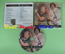 CD CANZONI DEL SECOLO ITALIA 6 compilation 2000 PROMO VASCO ROSSI VENDITTI (C22)