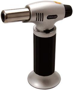 Chalumeau lampe à souder brasure flamme 1300° ajustable rechargeable piezo