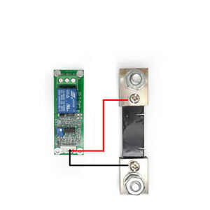 100a Dc Overcurrent Circuit Protection Sensor Current Detection Dc Shunt Electrical Equipment & Supplies