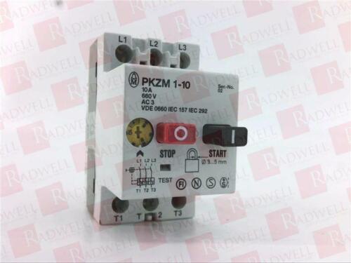 NEW IN BOX PKZM110 EATON CORPORATION PKZM1-10