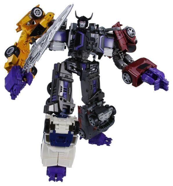 Transformers Unite Warriors UW02 Menasor Menazoru Takara Tomy Figure Japan Used