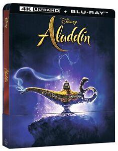 Aladdin-L-A-2019-4K-Ultra-HD-Blu-Ray-Disc-SteelBook-Nuovo-Sigillato