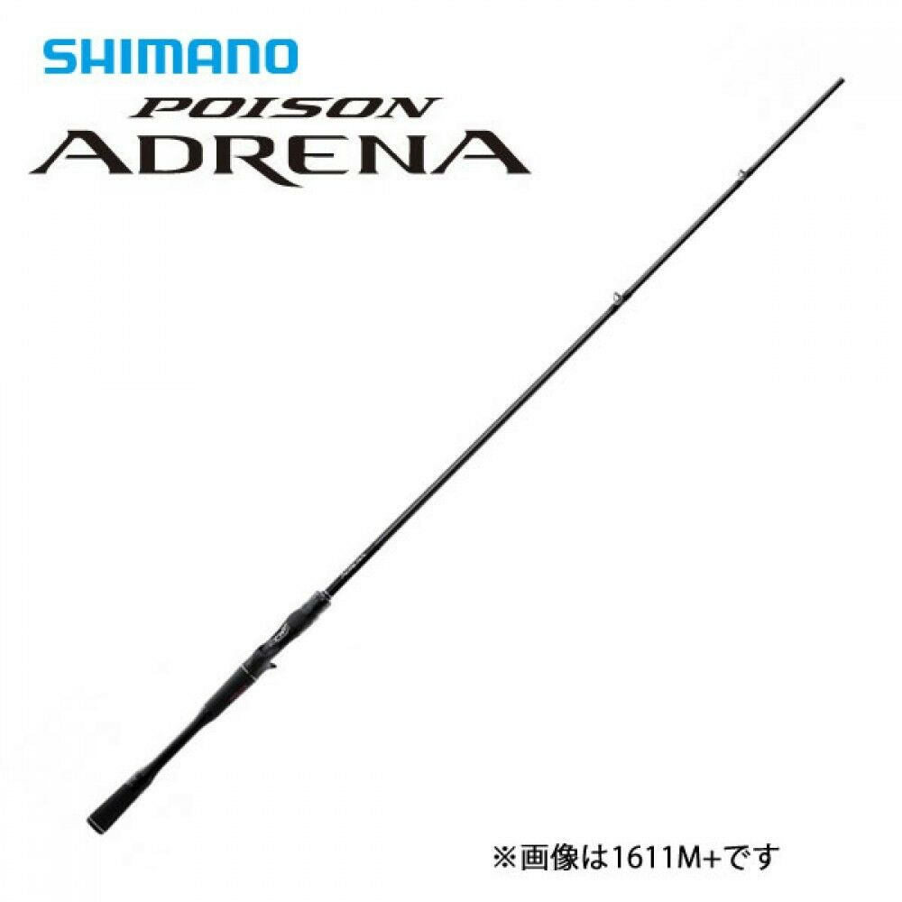 Shimano Bass Spinning Spinning Bass Rod Poison Adrena 267ML From Stylish Anglers Japan 937319