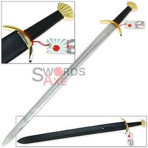 River-Witham-Viking-Sword-Replica-41-Inches-HC-Stainless-Steel-Brass-Pommel