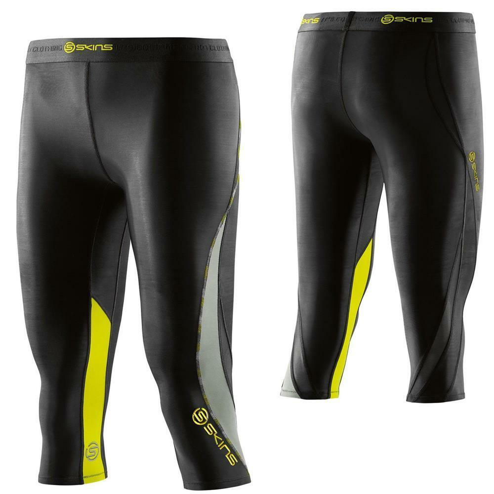 Skins DNAamic compression 3 4 tights women's training running gmy sports pants