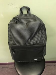 2e1b3652a0aa Herschel Supply Co. Harrison Backpack Pack Black Grid Brand New With ...