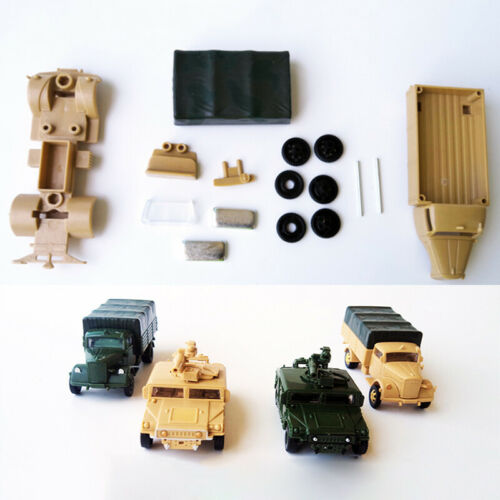 1//72 Opel Truck Kit Childrens Toys Gift War Military Car Model Home Decoration
