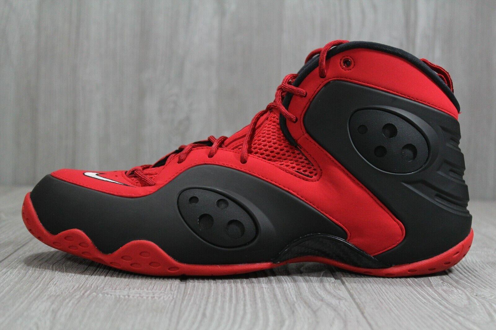 43 Nike Zoom  Rookie University rosso Basketball scarpe Mens Sz 12, 15 BQ3379 -600  di moda