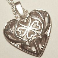 Avon .925 Heart Necklace/18/ Represents The Many Kinds Of Love In One's Heart