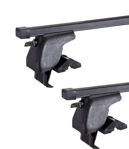 Roof Bars D-1 Lock 130cm 98-01 Pair of Toyota Corolla E11