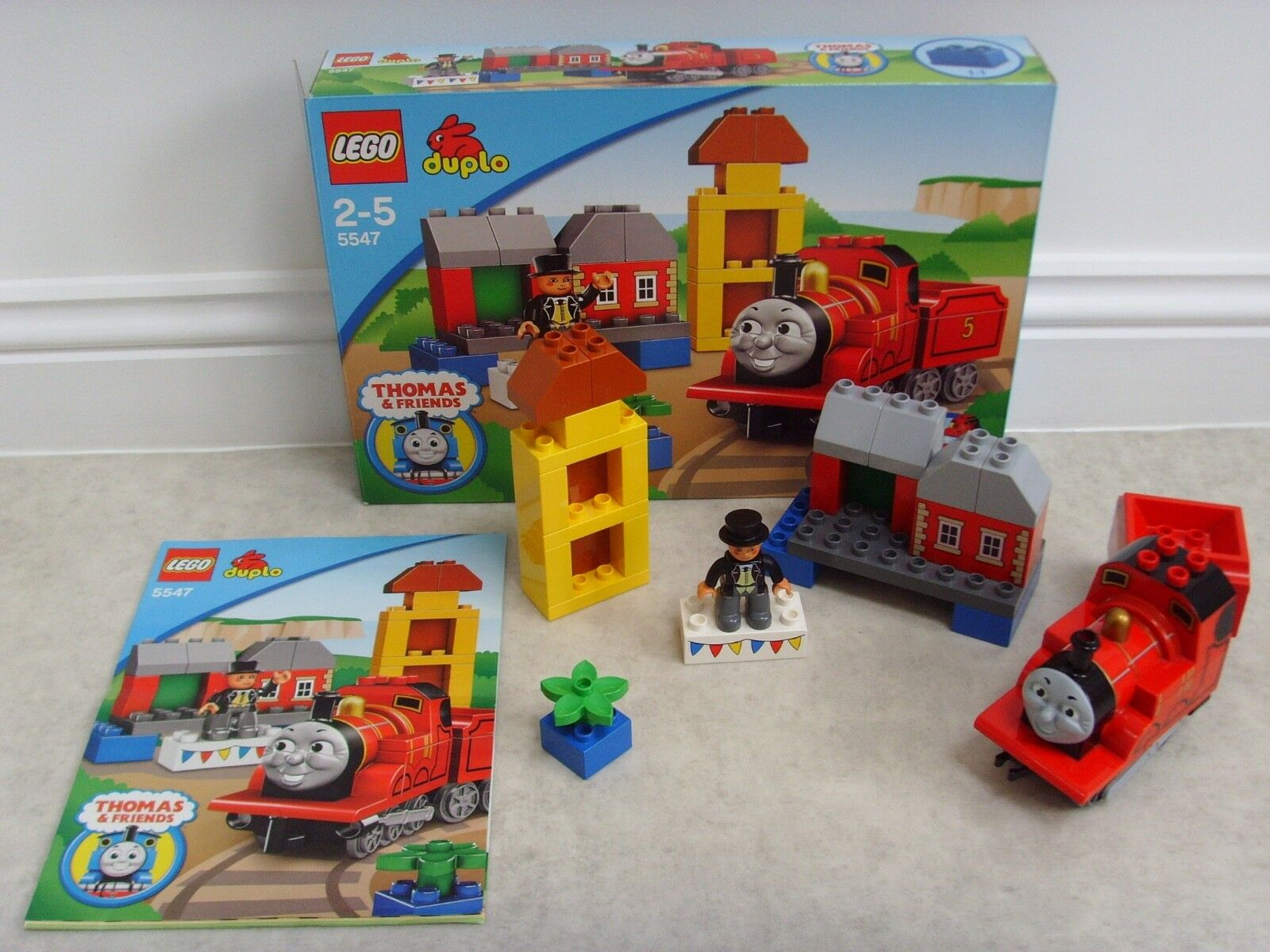 RARE USED LEGO 'James' - 5547 - Complete, Box & Instructions