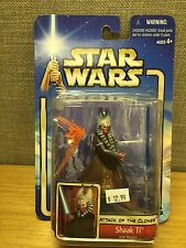 Hasbro Star Wars Attack of the Clones - Shaak Ti Jedi Master Action Figure New