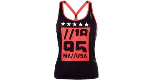 REEBOK TRAINING GYMANA LADIES TANK TOP GYM TOP ALL SIZES