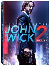 John Wick: Chapter 2 (DVD 2017) Action, Crime, Adventure NOW SHIPPING !