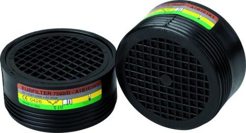 K1 x2 B1 E1 Cartouche filtrante pour demi-masque respiratoire Outibat Type A1
