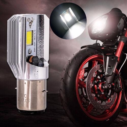 H6 12W BA20D DC 6V-80V COB LED High//Low Beam Motorcycle Headlight Fog Light Bulb