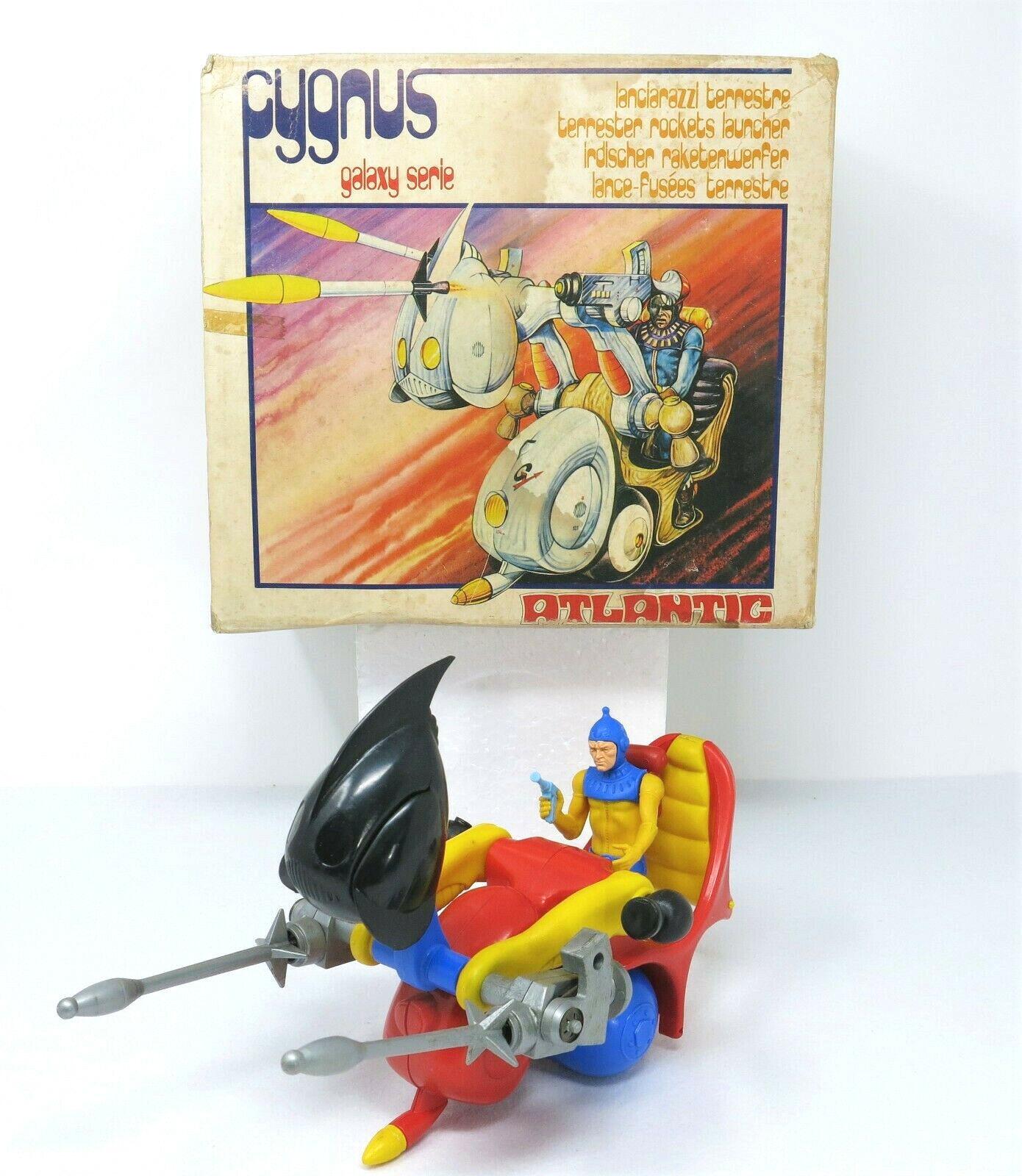 Atlantic Cygnus Skyman galaxy series lanciarazzi action figure vintage in box