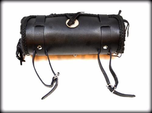 Sacoche de fourche Sac trousse a outil en Cuir A Frange NEUF Tool bag