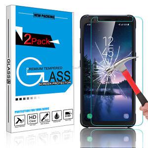 Para-Samsung-Galaxy-S8-Pantalla-de-Vidrio-Templado-Premium-HD-Active-protector-Protector-de-9-H