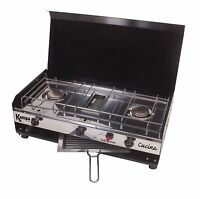 Kampa Cucina Hob And Grill / Camping / Double Gas Hob / High Speed Grill