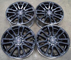 Nissan-Titan-SV-20-034-Aluminum-Black-Factory-OEM-Wheels-Rims-07-19-62754