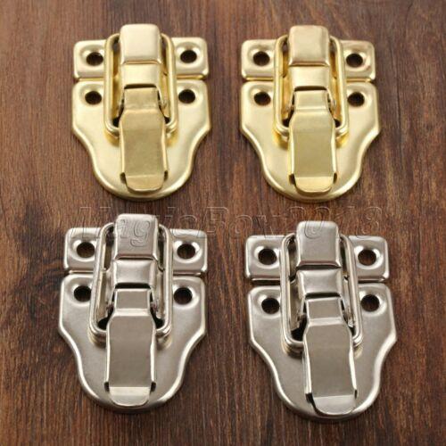 Retro Jewelry Gift Box Toggle Latch Hasp Wood Suitcase Cabinet Lock Clasp Latch