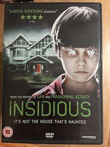 Rose-Byrne-Patrick-Wilson-Insidious-2011-James-Wan-culte-film-d-039-horreur-GB-DVD