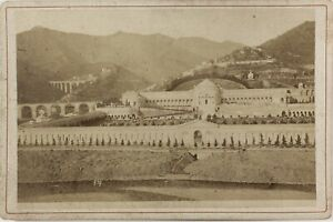 Genoa-Cimitero-Italia-Foto-Alfredo-Noack-PL17c1n35-Armadio-Vintage-Albumina