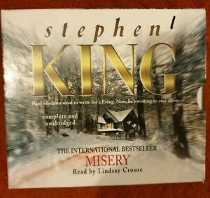 Stephen-King-Misery-Audio-Book-12-CD-12-Hours-play-time