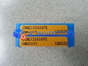 10pcs//box New Kyocera CNC Blade CNMG120408PS CA6525