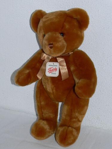 Hermann Teddy - Plüsch-Teddybär braun - 40 cm - Neu