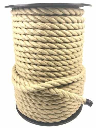 100M ROPE REELS ROPESERVICES HEMPEX SYNTHETIC POLY HEMP 6MM 8MM 10MM 12MM 14MM