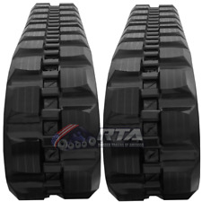 Two Rubber Tracks For Cat 279c 289c 299d 299d2 450x86x60 Block Tread 18 Wide