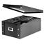 Snap-N-Store-Double-Wide-CD-Storage-Box-Black-SNS01658 thumbnail 1