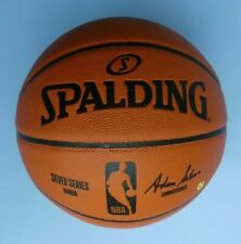 GENUINE SPALDING OFFICIAL NBA SILVER SERIES GAME BALL REPLICA BASKETBALL ~ NEW