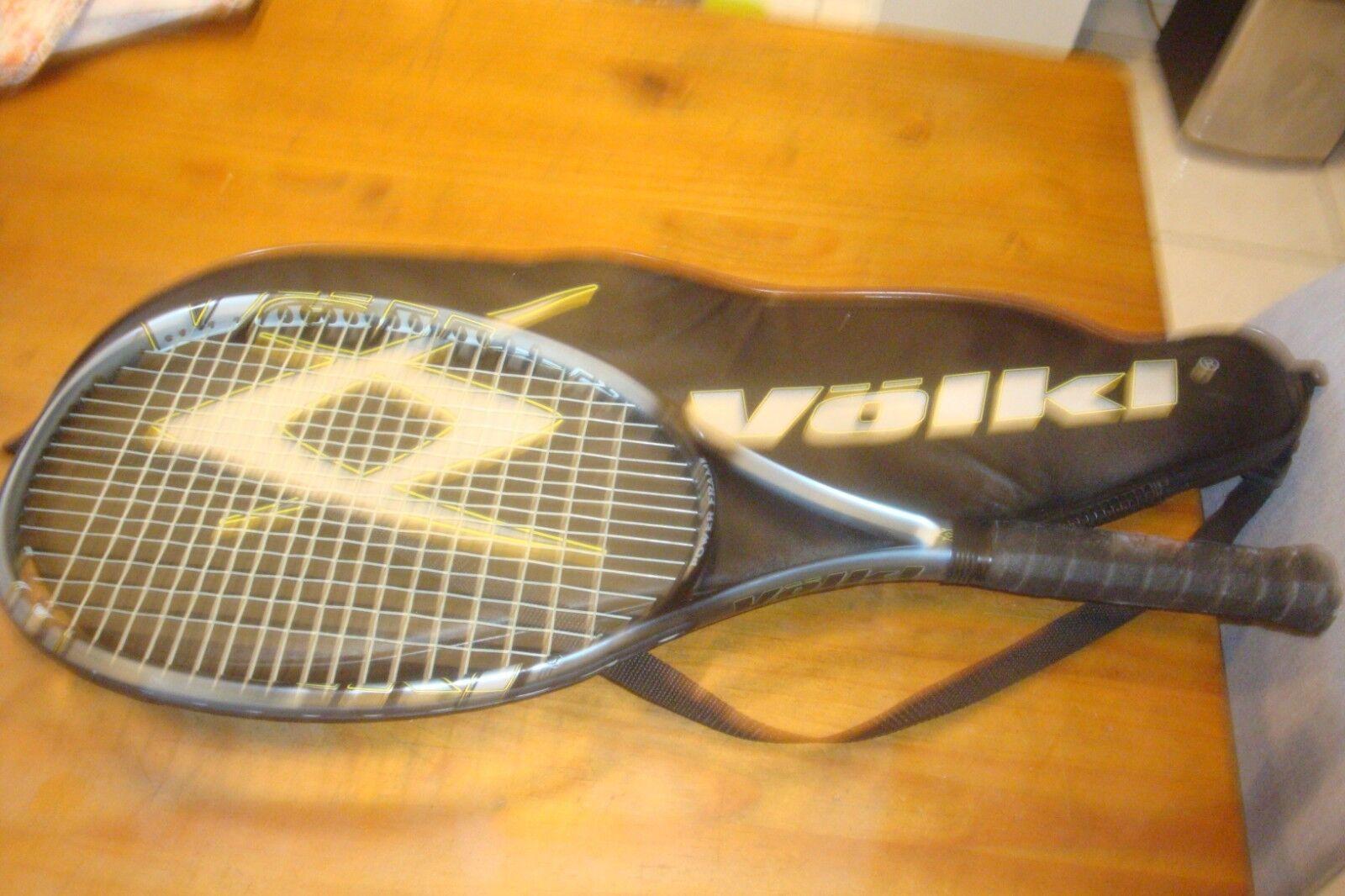 VOLKL HS1 Hot Spot Titanium 102 Mid Plus Tennis Racquet 4 1 2   VERY GOOD