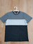 BRAND-NEW-Reph-CHARCOAL-Tricolour-Striped-T-Shirt-SIZE-M thumbnail 3