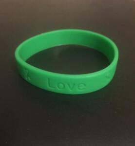 Image Is Loading 2 Emerald Green Liver Cancer Awareness Silicone