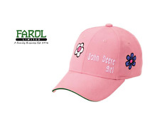 "Genuine John Deere Pink ""John Deere Girl"" Baseball Cap Hat MCJ099399051"