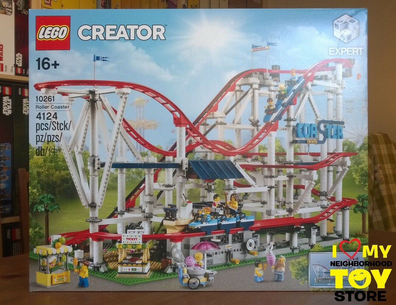IN STOCK - LEGO 10261 CREATOR EXPERT MONTAGNE RUSSE ROLLER COASTER (2018) - MISB