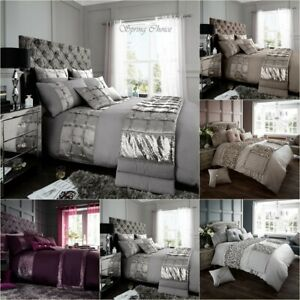 Luxury Duvet Cover Set Double Super King Size Bedding Quilt Bed