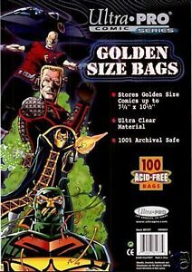 200-Ultra-Pro-GOLDEN-AGE-SIZE-Storage-Bags-Brand-New-Factory-Sealed