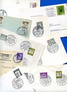 Lote-Sello-Stuttgart-de-1944-70er-Anos-36-Recibos-25923