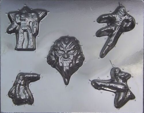 Power Rangers Chocolate Candy Mold 434 NEW