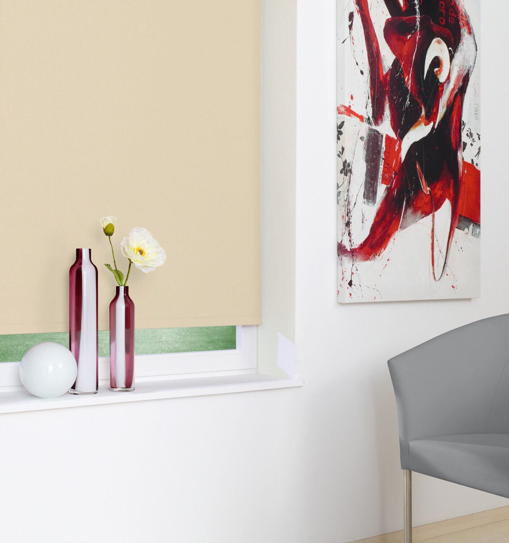 Kettenzug-Verdunklungsrollo Creme Beige Fenster Seitenzug Rollo Tür Dekoration | New Style  | Online Shop  | Optimaler Preis
