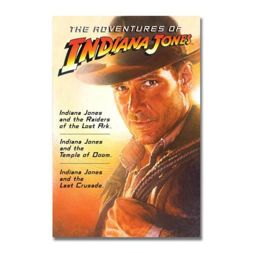 Indiana Jones Hot Movie Art Canvas Poster Print 12x18 24x36 inch