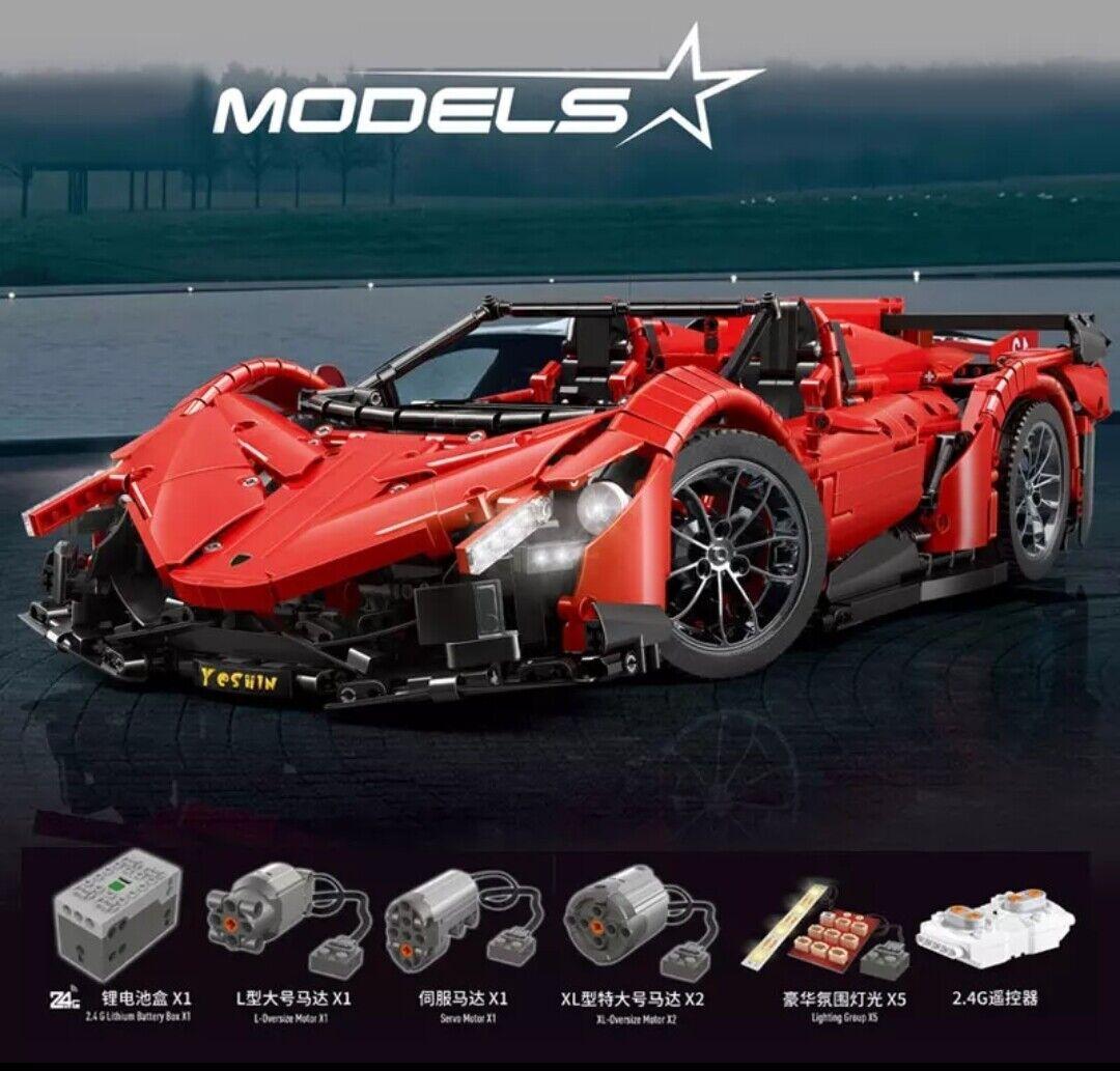 Technic MOC-10559 Lamborghini Veneno Roadster - LEGO Compatibile 100%SPEDITO DHL