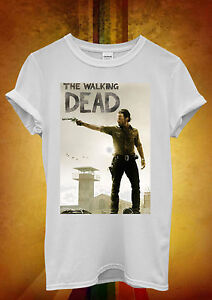 The-Walking-Dead-Rick-Funny-Hipster-Men-Women-Unisex-T-Shirt-Tank-Top-Vest-242