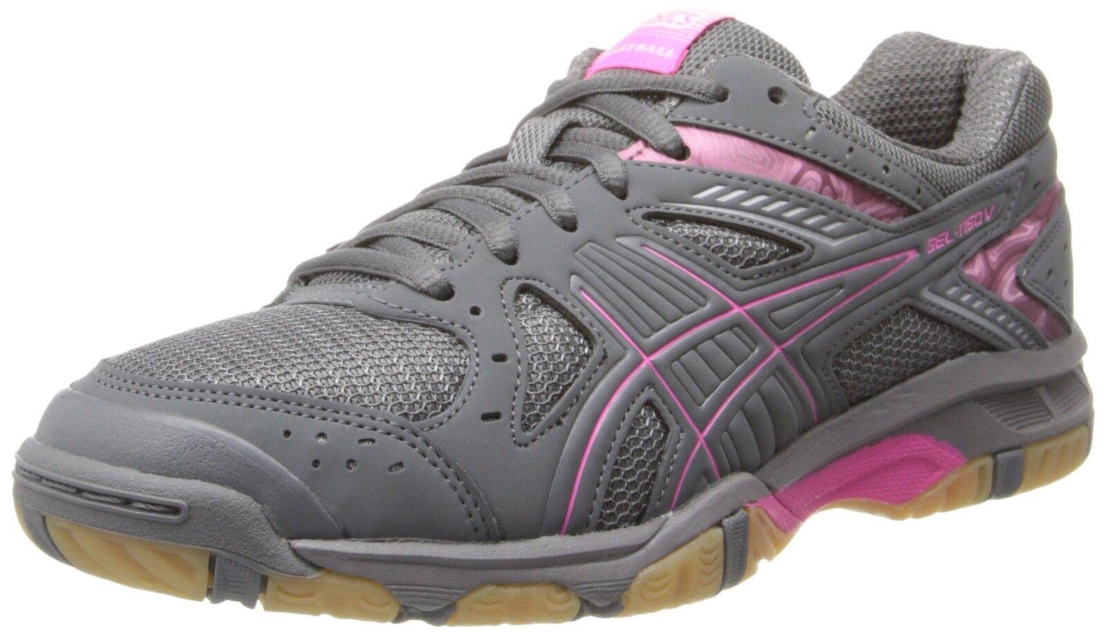Asics Gel 1150 V Mujer Volleyball interior zapatos zapatos zapatos talla 7 rosado gris  bienvenido a comprar